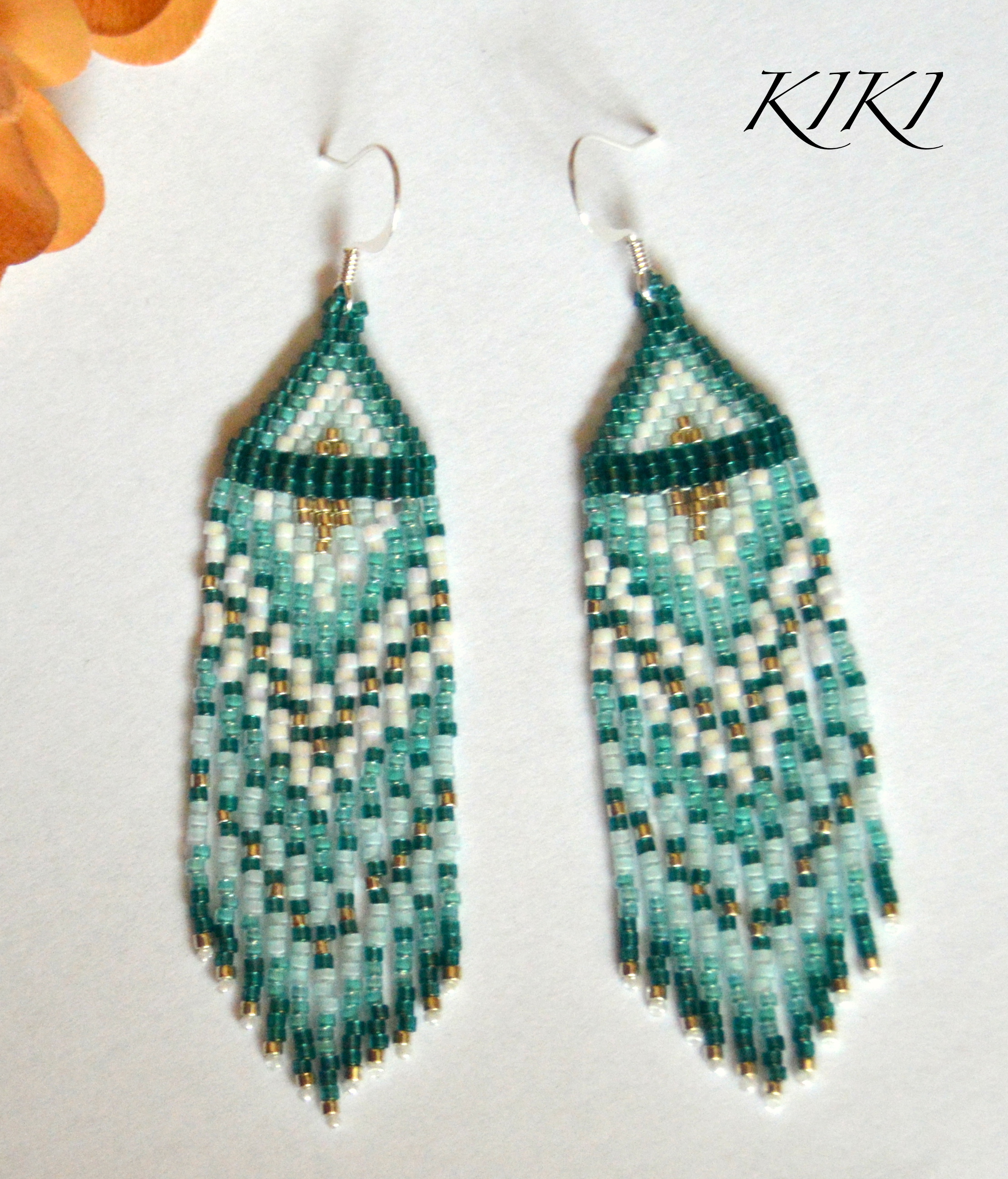 Long turquoise