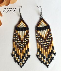 Golden ethnic long