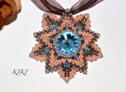 Swarovski star pendant