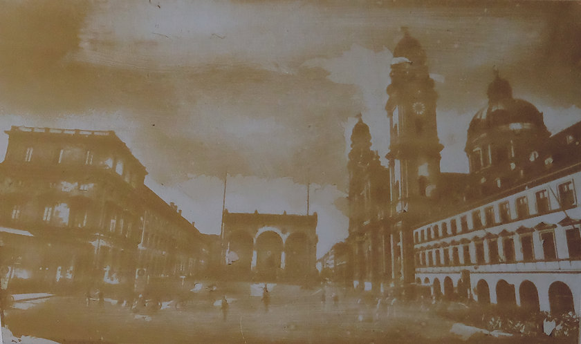 Przemek Zajfert: Odeonsplatz in München