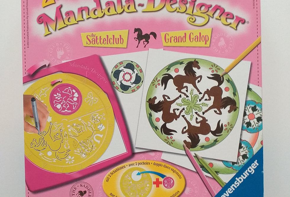 2 in 1 Mandala-Designer: Der Sattelclub.
