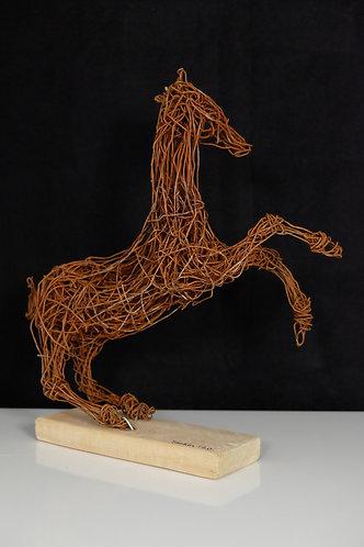 Murat Taskin: steigendes Pferd Kopf links