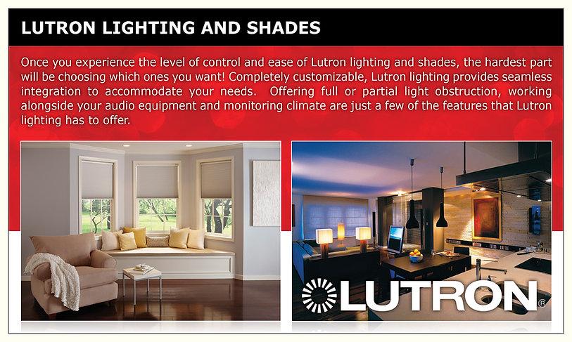 Lutron Custom Lighting