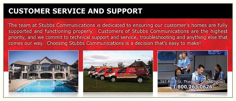 Stubbs Customer Service