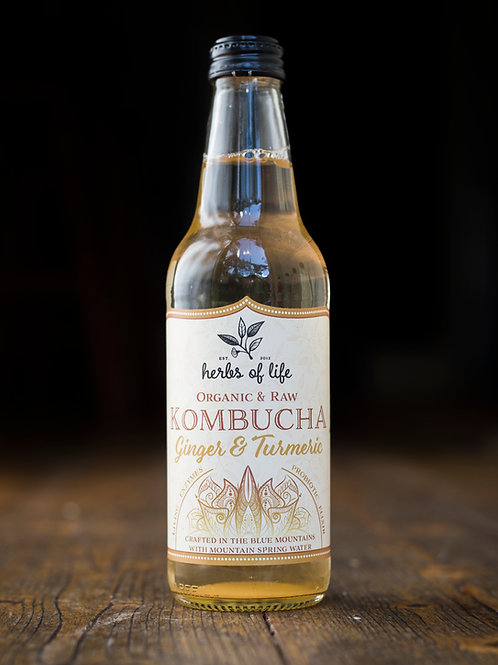 Kombucha Carton - Ginger & Turmeric