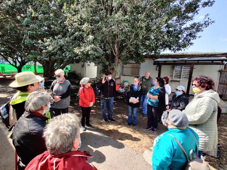 Senior citizen group from Akko travels to Hula Lake