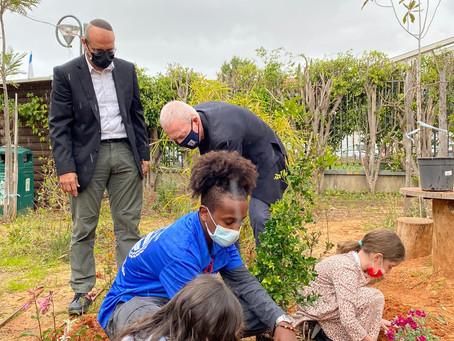 Getting our hands dirty: Dror Israel celebrates Tu B'shvat