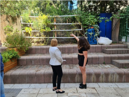 Dror's Tel Aviv Social High School Opens School Year with Visit from Minister of Economy