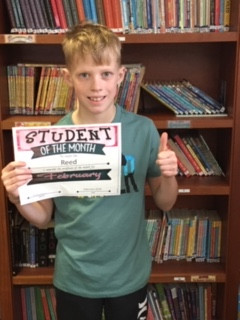 Character Education - Students of the Month