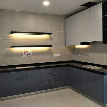 Modern Kitchen Penang, Skilled decor &Design
