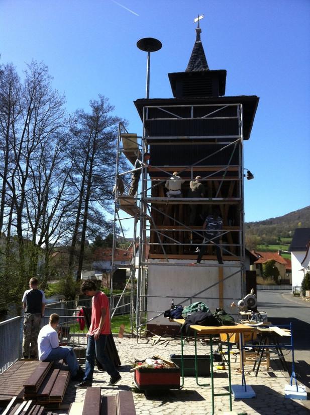 Glockenturm Wendershausen