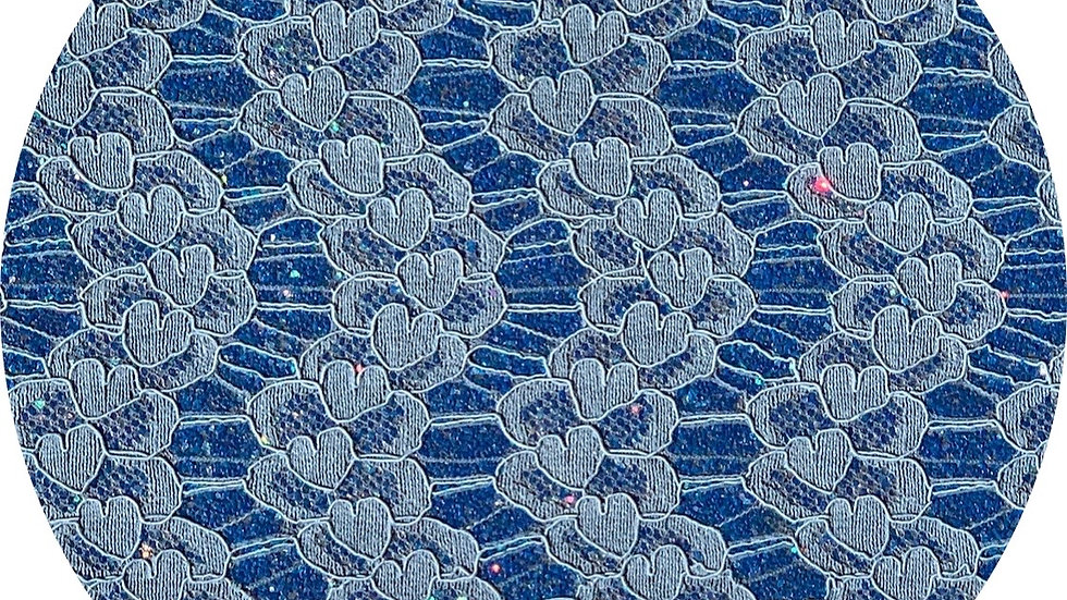 Glitter & Lace ~ Prussian Blue