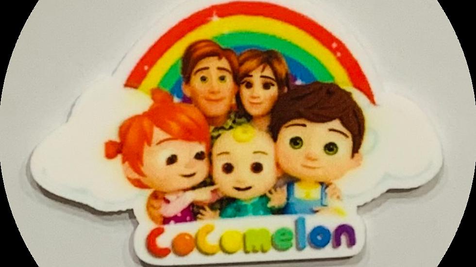 Cocomelon Family ~Planar Resin