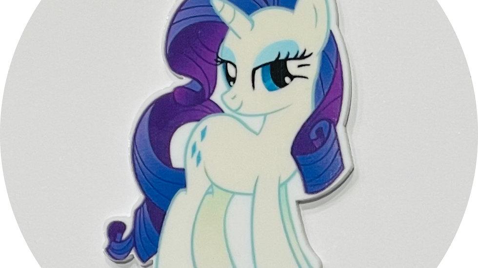 Planar Resin ~ Purple Pony
