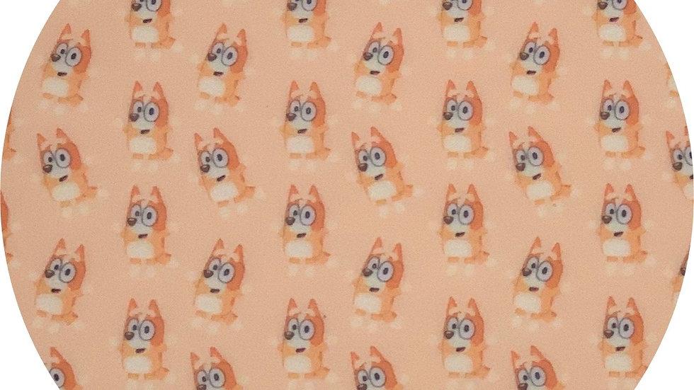 Bingo ~ Waterproof Sheets ~ Orange ~ 0.65 Thickness
