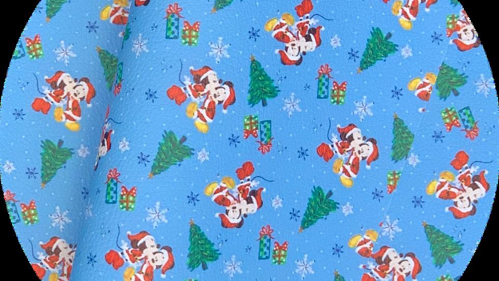 Mickey & Minnie ~ Luxe Grain Litchin