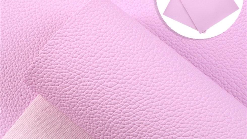 Fine Luxe Grain Litchi ~ Pinkish-Purple