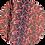 Thumbnail: Candy Cane ~ Black ~ Luxe Grain Litchin