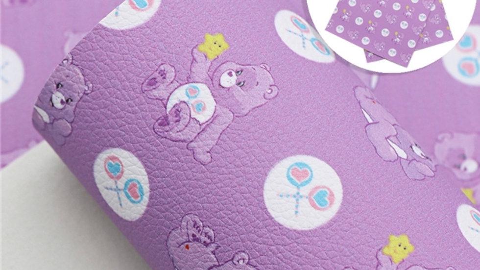 Care Bears Luxe Grain Litchi ~ Purple