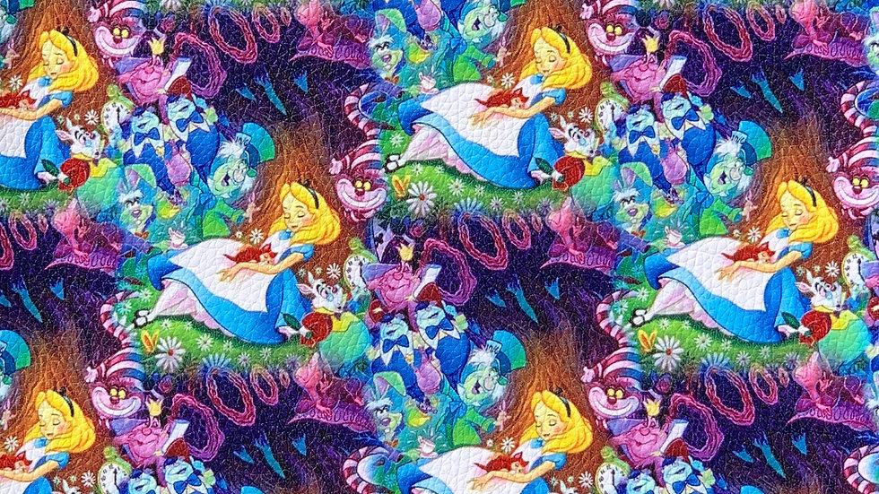 Alice in Wonderland ~ Luxe Grain Litchi
