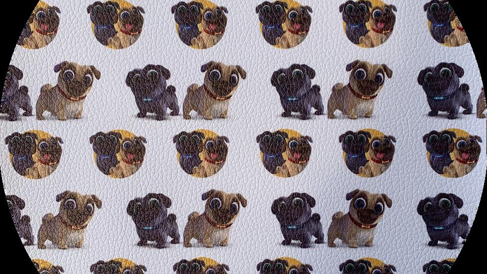 Puppies ~ Luxe Grain Litchi