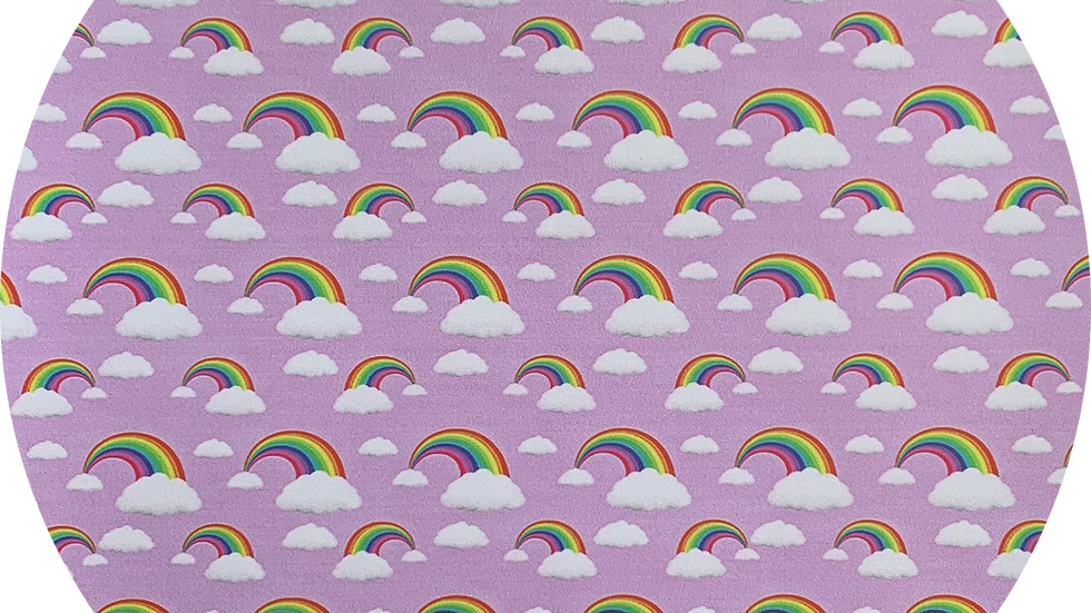 lavender Rainbows ~ Smooth Leatherette