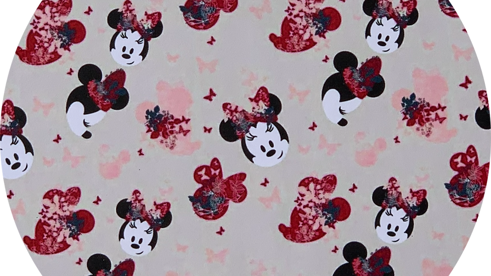 Minnie Mouse ~ Smooth faux Leather