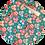 Thumbnail: Christmas  Mickey ~ Green ~ Luxe Grain Litchu