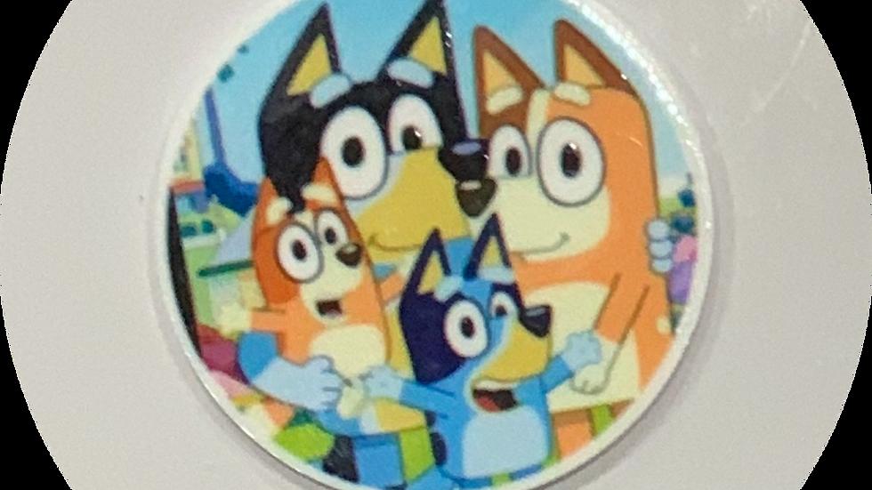 Bluey Family ~ Planar Resin