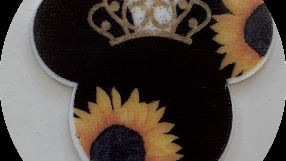 Sunflower Mouse ~ Planar Resin