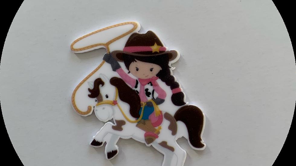 Cowgirl ~ Planar Resin