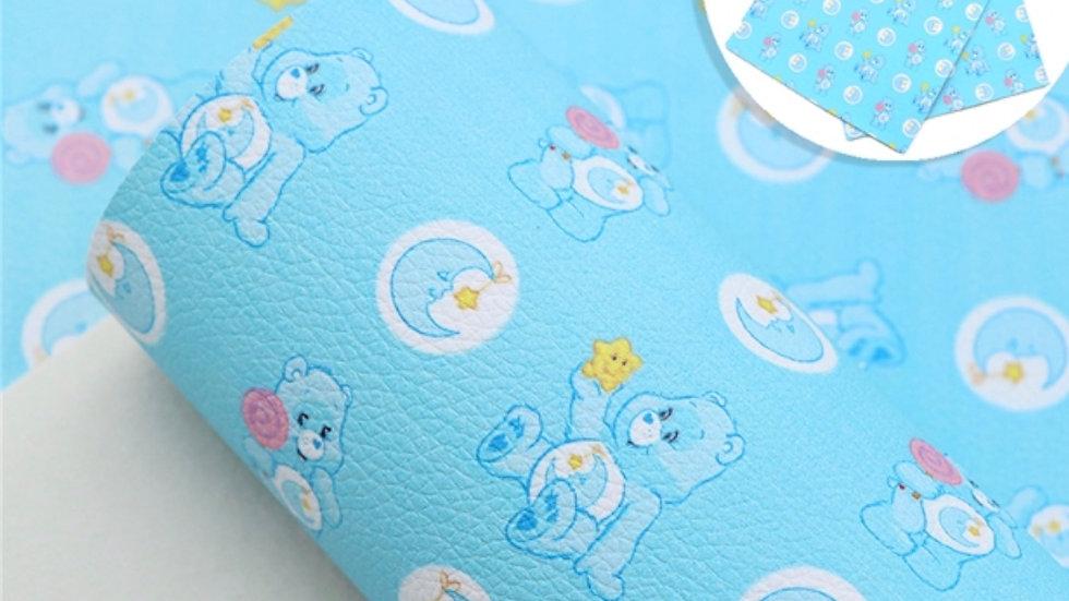 Care Bears Luxe Grain Litchi ~ Blue