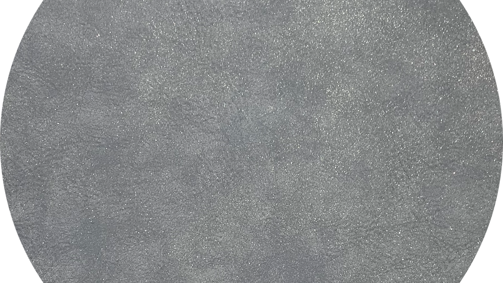 Luxe Shimmer Suede ~ Silver Grey ~ 1.25mm Thickness