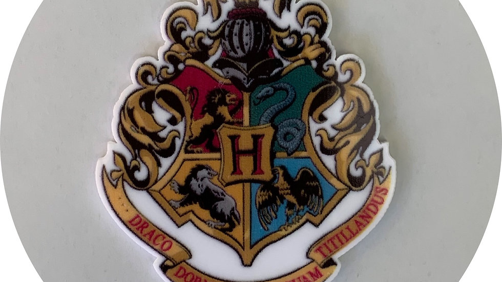 Wizard Emblem ~ Planar Resin