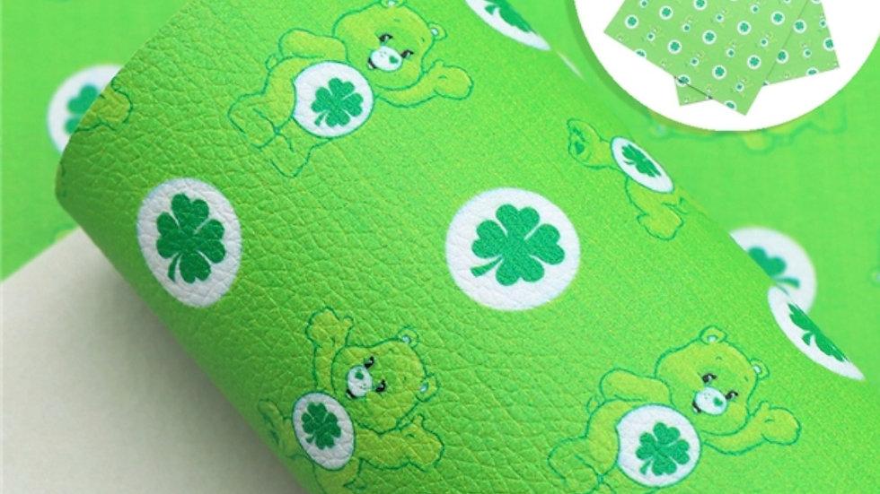 Care Bears Luxe Grain Litchi ~ Green