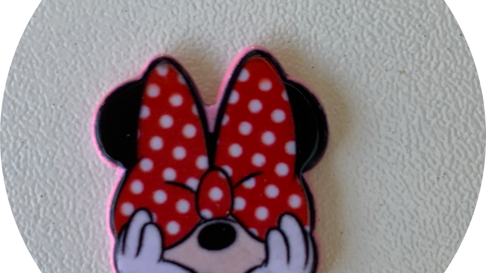 Minnie's Big Red Bow ~ Planar Resin
