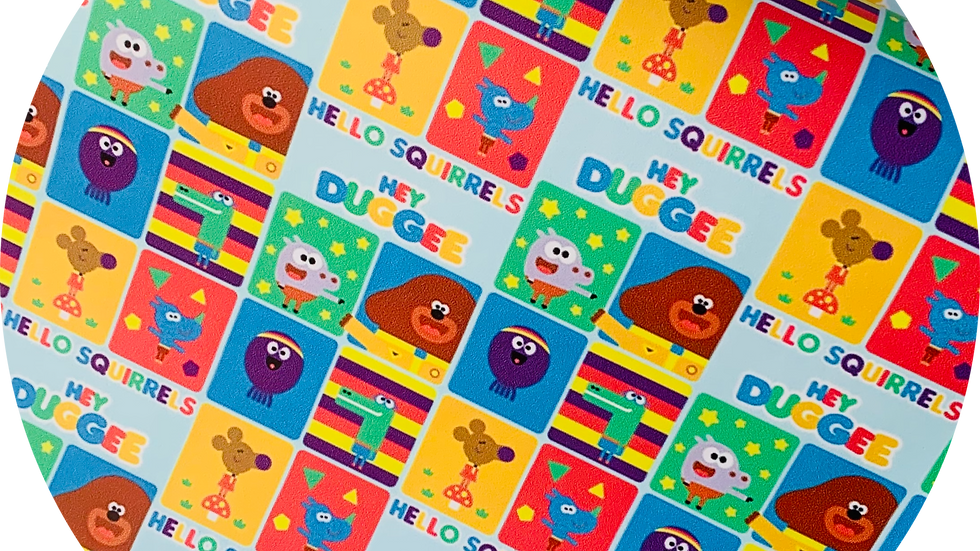 Hey Duggee ~ Smooth Leatherette