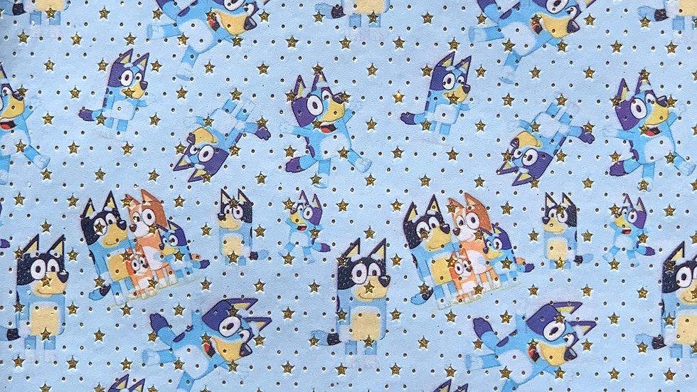 Bluey Stars ~ Blue