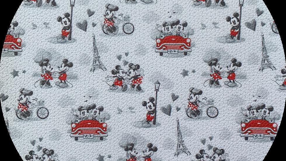 Mickey & Minnie ~ Luxe Grain Litchi