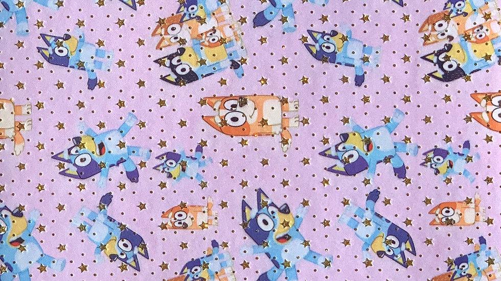 Bluey Stars ~ lavender