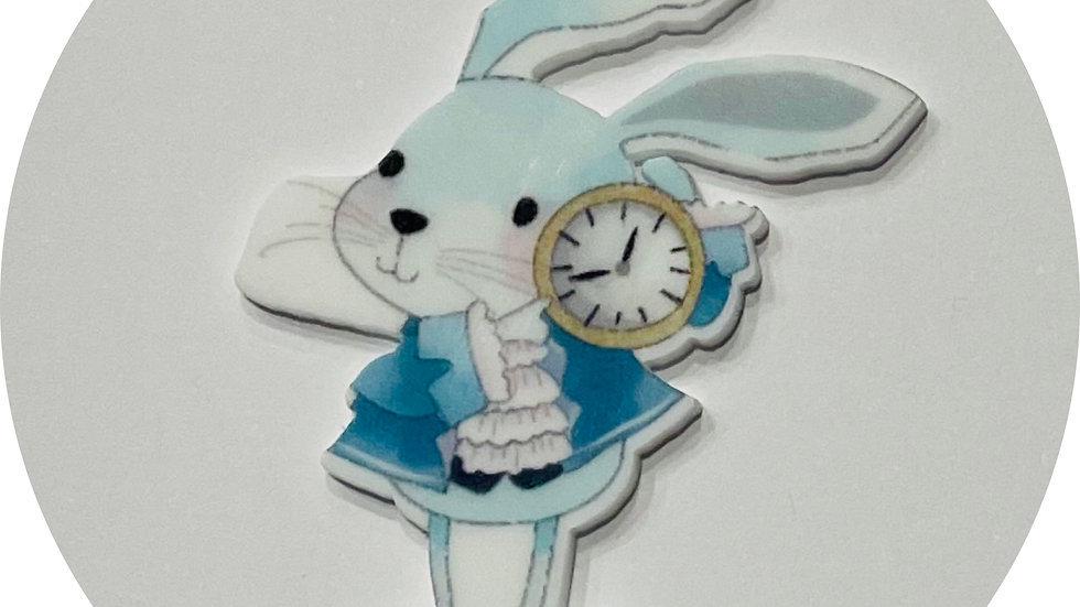 Planar Resin ~ White Rabbit