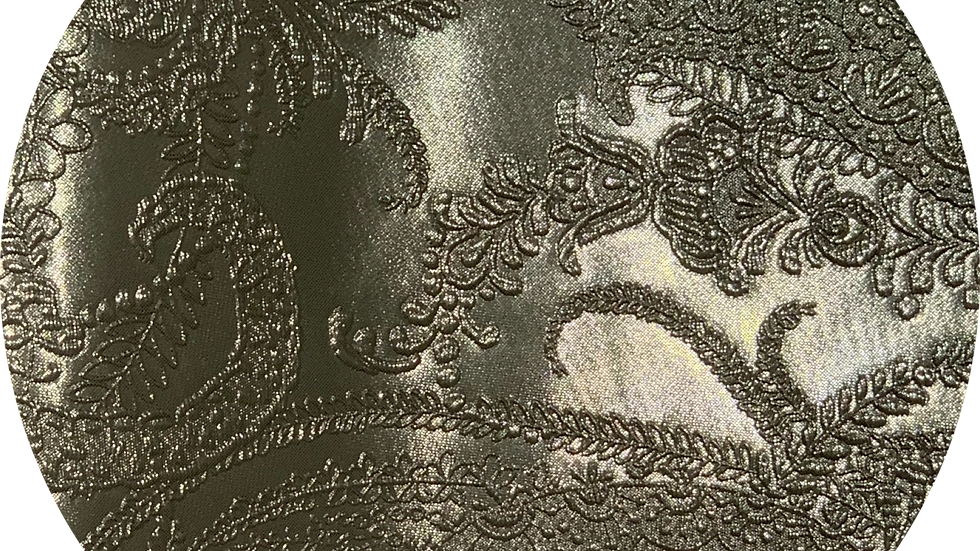Luxe Embossed Leatherette ~ Gold ~ 1.05mm Thickness
