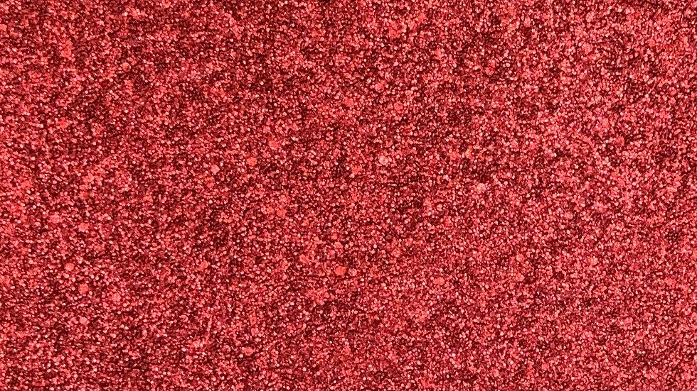 Red ~ Metal Glitter