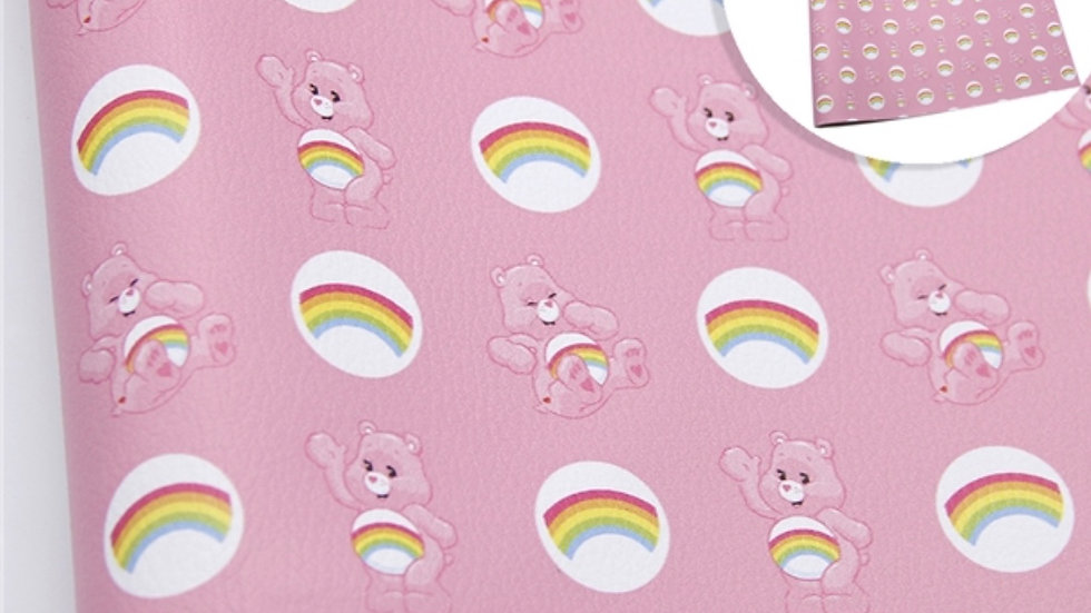 Care Bears Luxe Grain Litchi ~ Pink