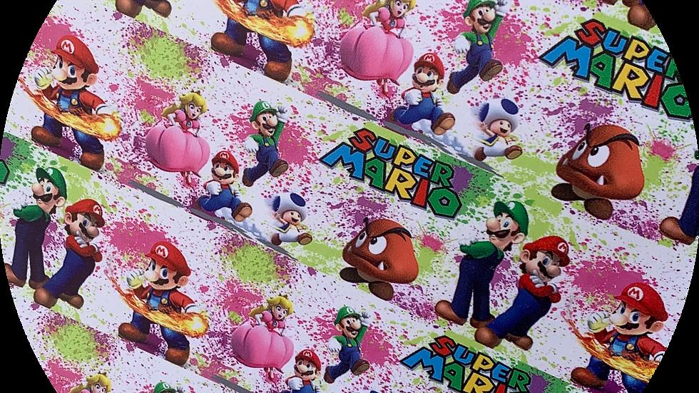 Super Mario ~ Smooth Leatherette