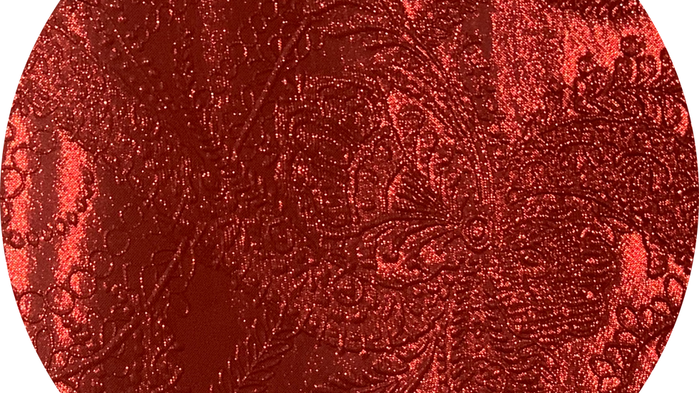 Luxe Embossed Leatherette ~ Red ~ 1.05mm Thickness