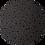 Thumbnail: Halloween ~ Black Stars ~Fine Glitter