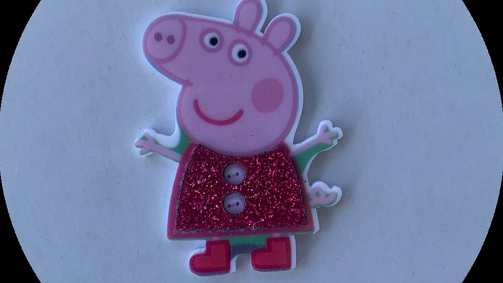 Planar Resin ~Small Glitter Pig