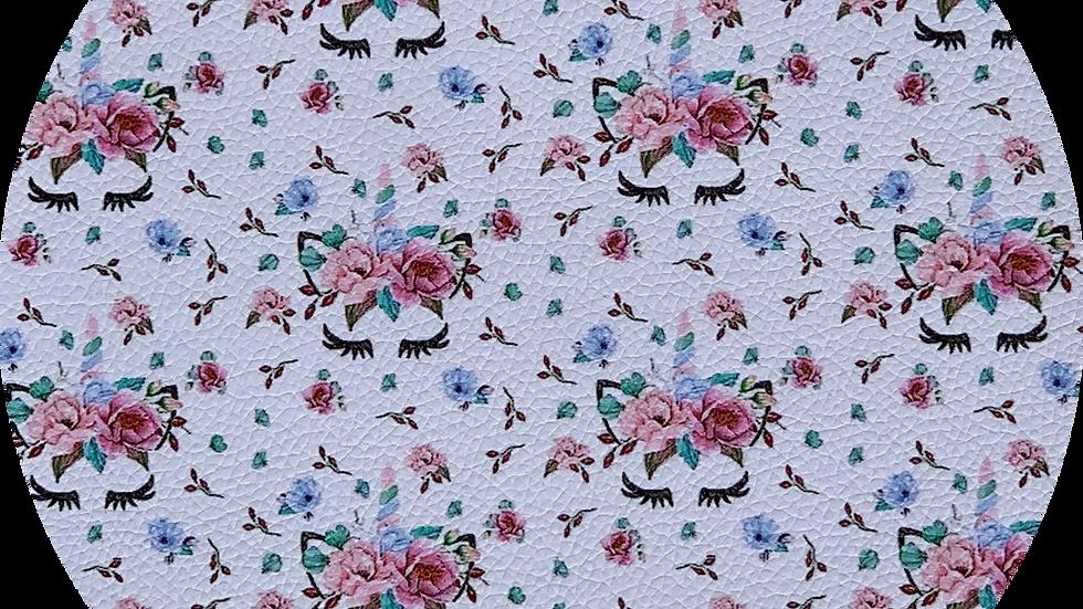 Unicorn Flowers ~ Luxe Grain Litchi