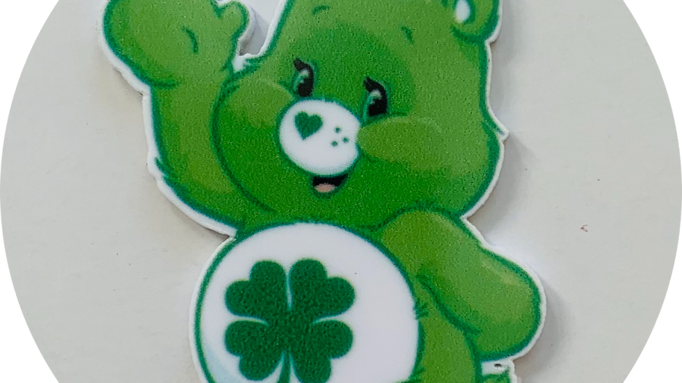 Green care Bear planar Resin